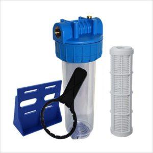 Filtre eau anti sédiments lavable