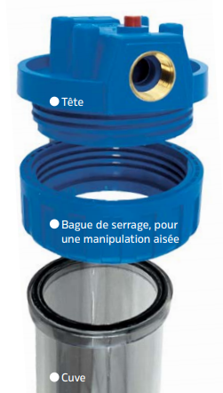 PORTE-FILTRE filtration big blue
