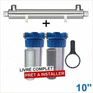 Station-UV-2800-litres-heure-10-pouce-eau-de-pluie-potable
