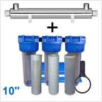 station-uv-1200-litres-heure-10-pouces-filtration-purifiation-eau-de-puits