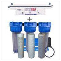 Station de stérilisation Uv 24 GPM et filtration eau de puits