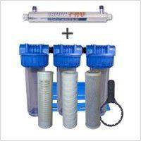 Station de stérilisation Uv 6 GPM et filtration eau de puits